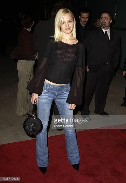 Mena Suvari during 'Solaris' Los Angeles Premiere at Pacific Cinerama Dome in Hollywood California United States