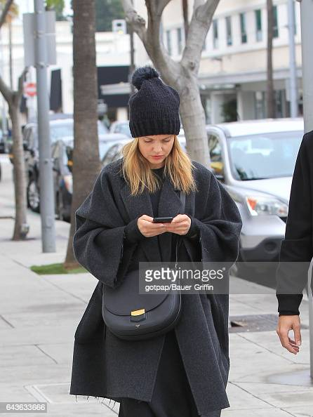 Mena Suvari is seen on February 21 2017 in Los Angeles California