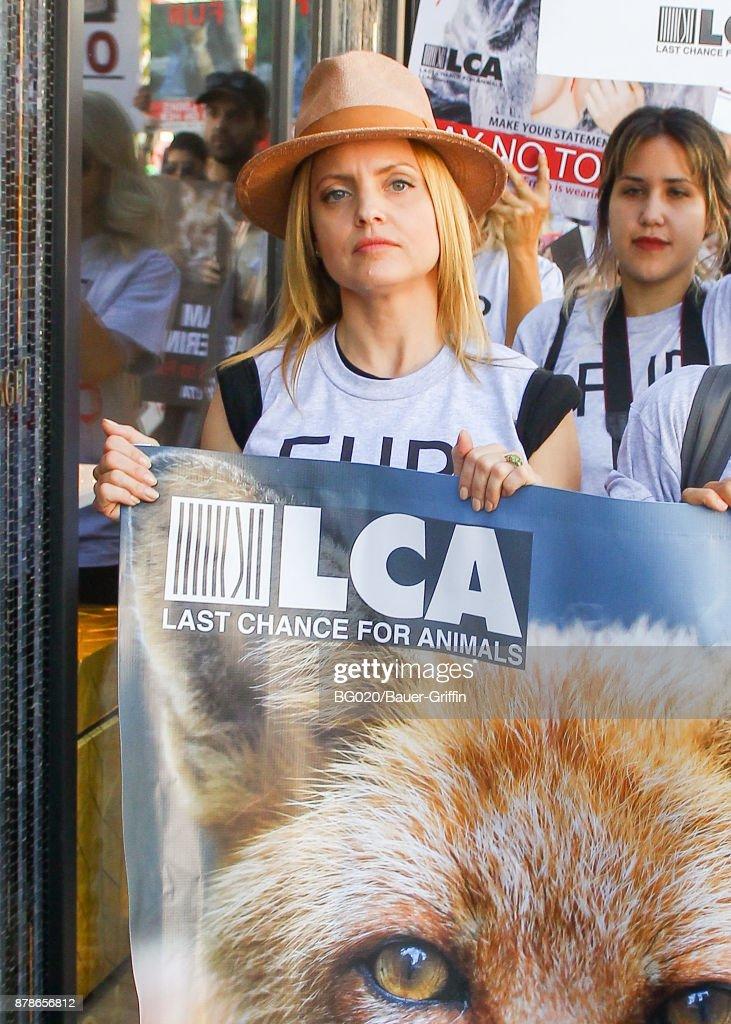 Celebrity Sightings In Los Angeles - November 24, 2017