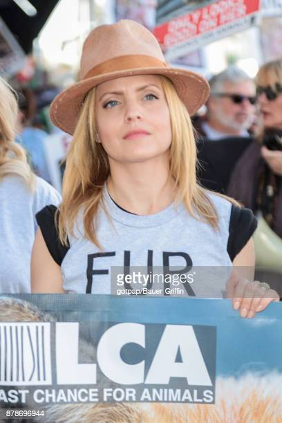 Mena Suvari is seen on November 24 2017 in Los Angeles California