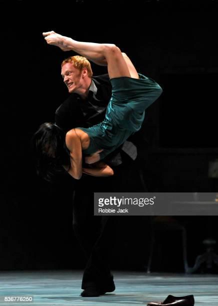 MengKe Wu and Marne van Opstal in Nederlands Dans Theatre's production of Gabriela Carrizo's The Missing Door as part of the Edinburgh International...