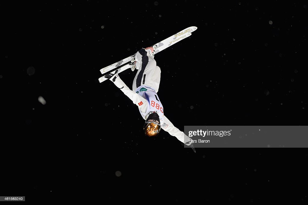 Mengtao Xu of China competes during the Women's Aerials Final of the FIS Freestyle Ski and Snowboard World Championship 2015 on January 15, 2015 in Kreischberg, Austria.