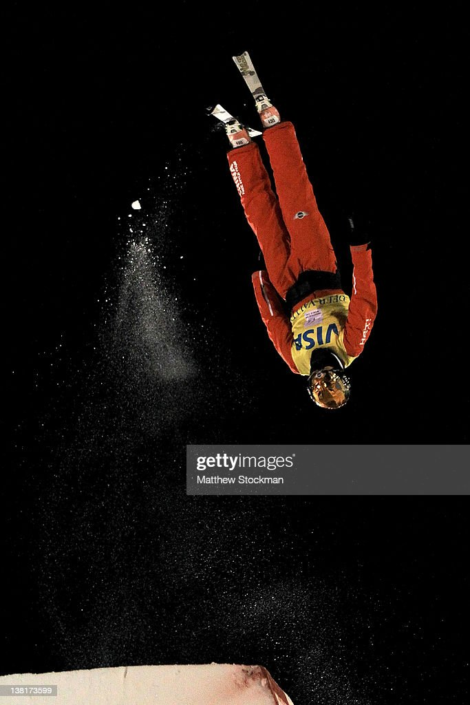 Mengtao Xu #1 of China competes in the Ladies' Aerials during the Visa Freestyle International FIS Freestyle World Cup at Deer Valley on February 3, 2012 in Park City, Utah.