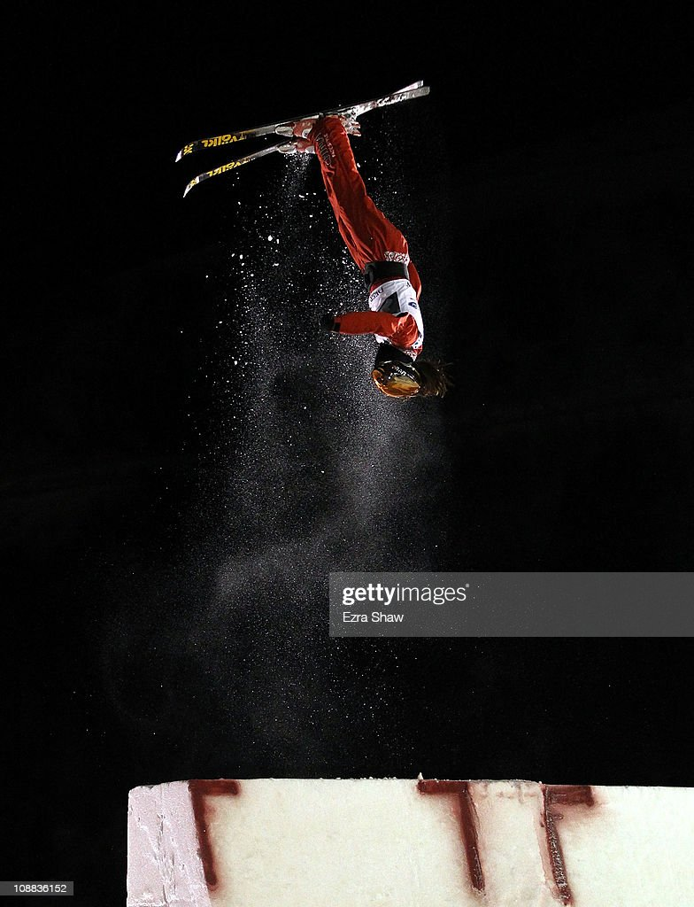Mengtao Xu of China competes in the Women's Aerials Final at the FIS Freestyle World Championships at Deer Valley Resort on February 4, 2011 in Park City, Utah. Xu won the silver medal.