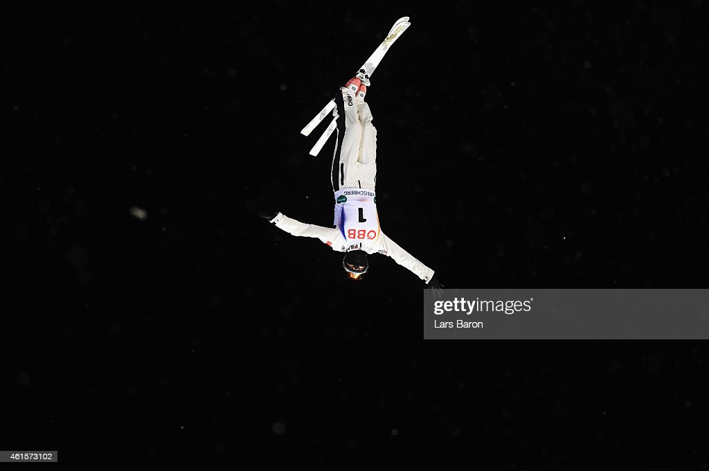 Mengtao Xu of China competes in the Women's Aerials Final of the FIS Freestyle Ski and Snowboard World Championship 2015 on January 15, 2015 in Kreischberg, Austria.