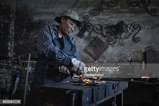 Menial work : Stock Photo
