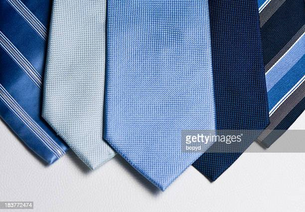 Mens Blue ties landscape layout