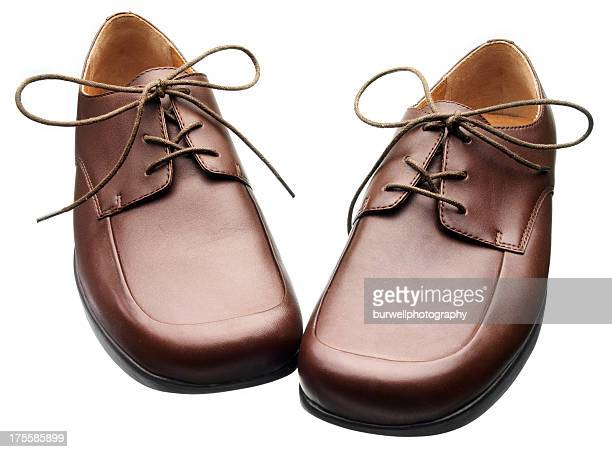 Men's Brown Leather Lace shoes