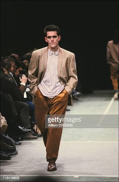 Men'S Fashion Matt DillonModel For 'As Boys' On February 3Rd1991