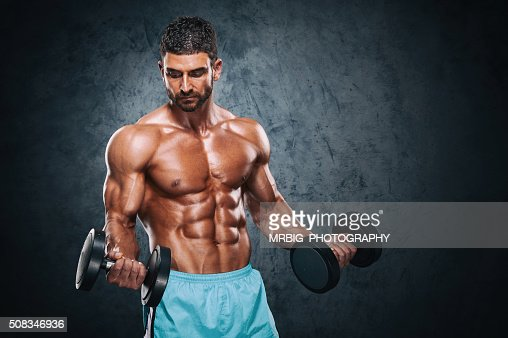 Men`s Fitness : Stock Photo