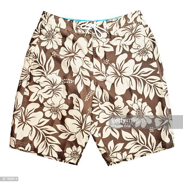 Men's floral pattern swim shorts