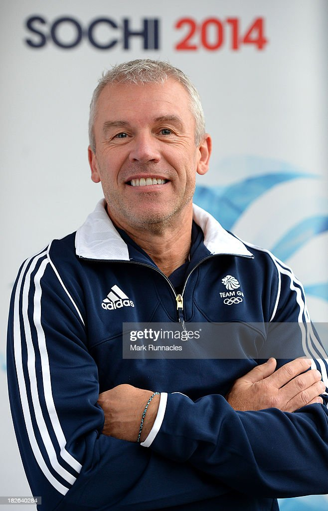 Men's Head Coach Soren Gran during a press conference to announce the Team GB Curling team for the Sochi 2014 Winter Olympic Games at The Peak, Stirling Sports Village on October 02, 2013 in Stirling, Scotland.
