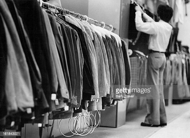 DEC 6 1974 DEC 7 1974 DEC 8 1974 Men's Jackets at Joslins' Downtown Store Are Protected from Shoplifters A chain that runs from the bar from which...