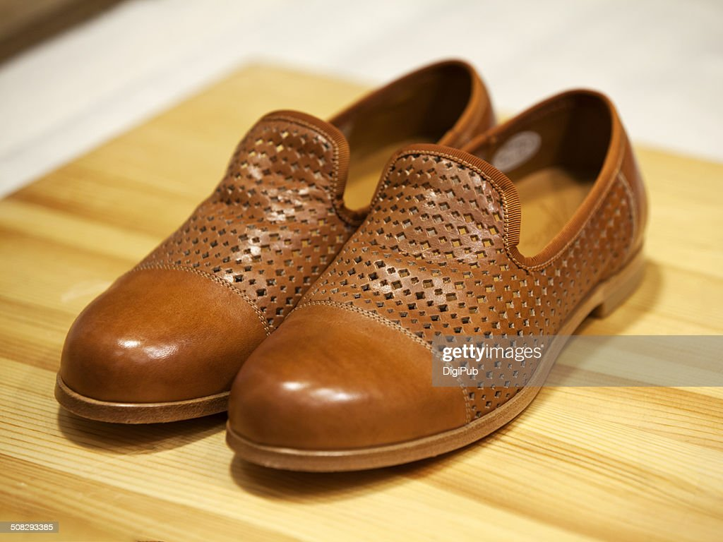 Men's Leather Shoes for Summer