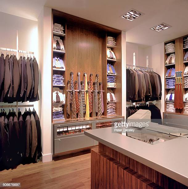 Mens retail fashion shop