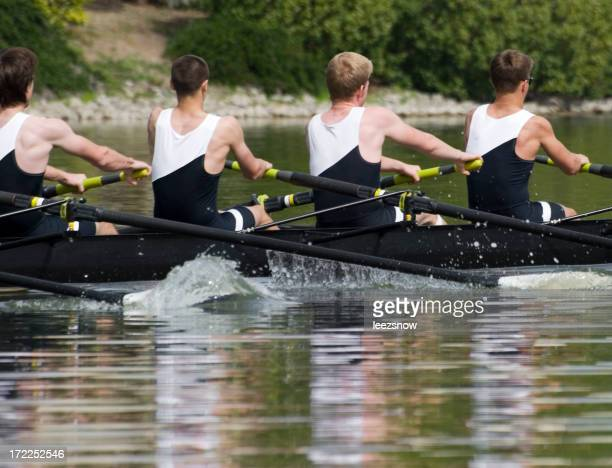 Men's Rowing Team - Teamwork