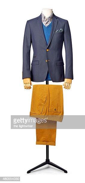 Caballero satisfacer Aislado en blanco con trazado de recorte : Foto de stock