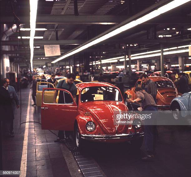 Menschen und Ereignisse zwischen den Jahren 1957 und 1984 Die legendaere VWKaeferProduktion 1972