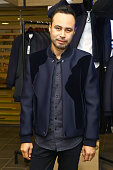Menswear designer Carlos Campos attends the GQ event at Lord Taylor featuring Rueben Randle on October 8 2015 in New York City