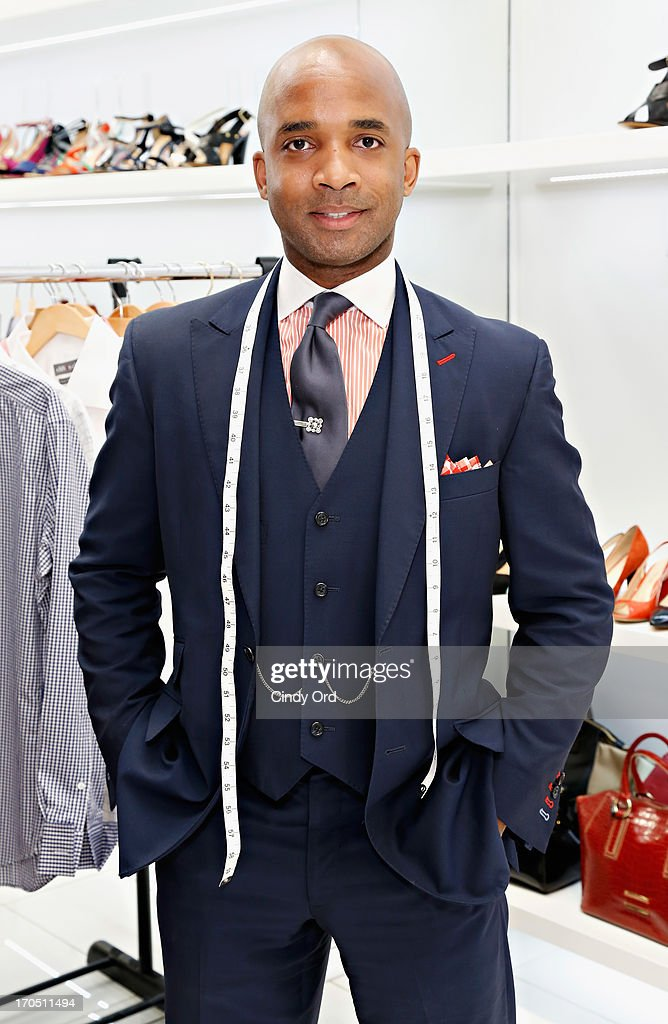 Menswear designer Clifton Charles attends the Carlo Pazolini 'Guy's Night Out' Father's Day Event at Carlo Pazolini Boutique on June 13, 2013 in New York City.