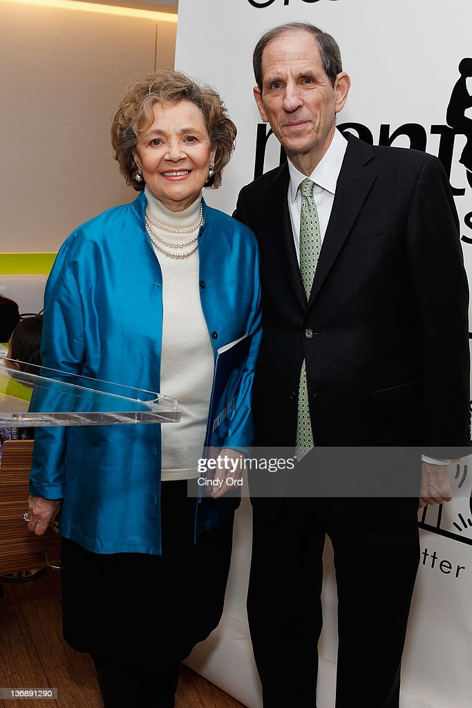 Mentoring USA Founder and Chair Matilda Raffa Cuomo and Bloomingdale's CEO Michael Gould attend the Mentoring USA window unveiling at Bloomingdale's...