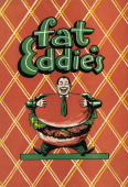 A menu for Fat Eddie's reads 'Fat Eddie's' from 1956 in USA