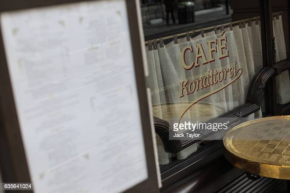 A menu is displayed at Fischer's restaurant in Marylebone on February 16 2017 in London England The Association for Licensed Multiple Retailers have...