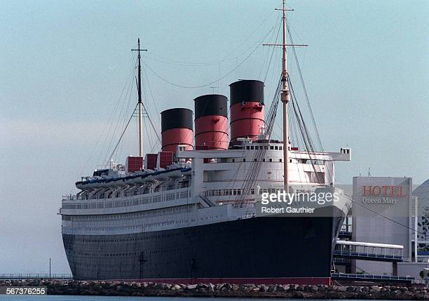 MEQueen Mary20128RG –– The Queen Mary docked in Long Beach may soon move to Japan Tuesday January 28 1997
