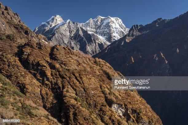 Mera peak in Everest region, Nepal