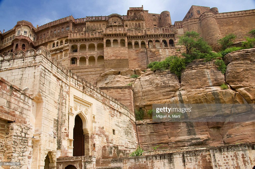 Merangarh Fort at Jodhpur  - Fuerte de Merangarh : Stock Photo