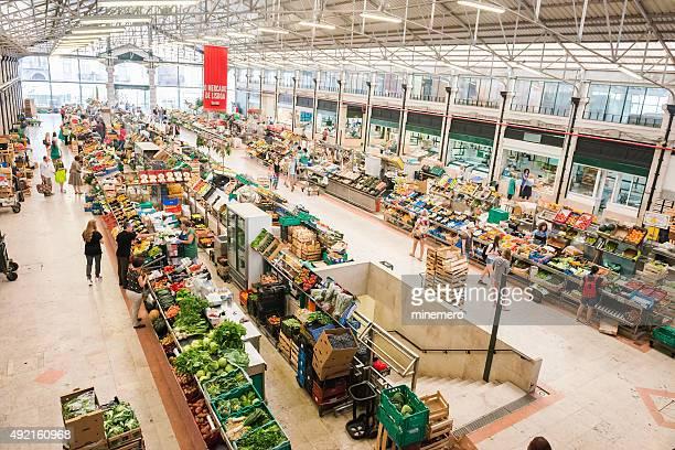 Mercado da Ribeira in Lisbon