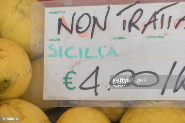 Mercato Testaccio, Rome, Lazio, Italy
