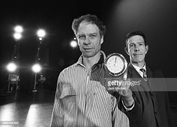 Merce Cunningham and John Cage photographed in 1963