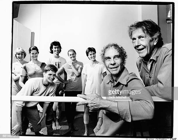 Merce Cunningham John Cage and company 1986
