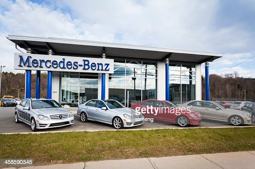 Car dealership exterior stock photos and pictures getty for Mercedes benz dealers wisconsin