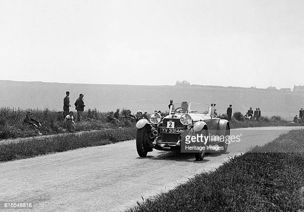 Mercedes Benz driven by Earl Howe on 1930 Brighton rally acceleration trial Artist Unknown