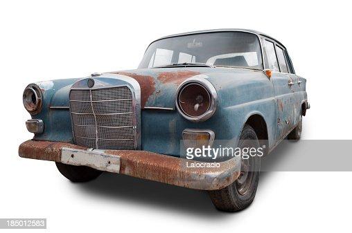 Mercedes Benz oxidized