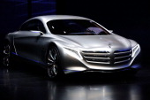 Mercedes Benz presents the new concept car F125 during the press days at the IAA Frankfurt Auto Show on September 13 2011 in Frankfurt am Main...