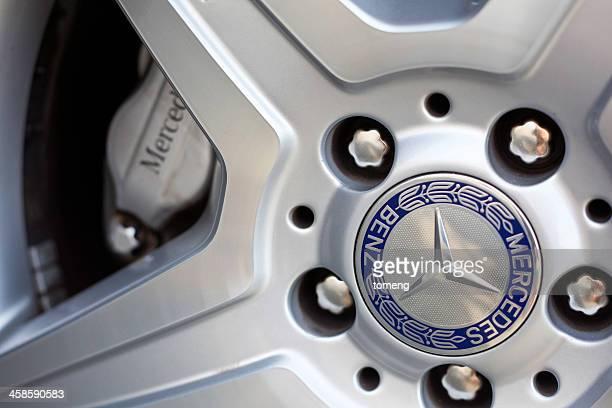 Mercedes Benz Wheel Close Up