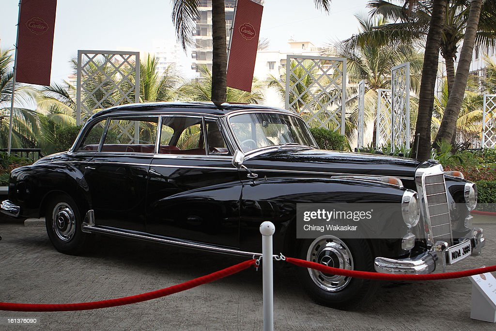 Mercedes during Cartier 'Travel With Style' Concours 2013 at Taj Lands End on February 10, 2013 in Mumbai, India.