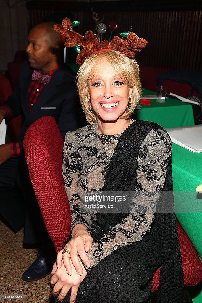 Mercedes Ellington attends the Duke Ellington Center For The Arts 'Ring Dem Bells!' Holiday Party at Landmark on the Park on December 10, 2012 in New York City.