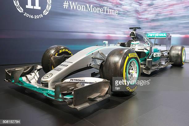 Mercedes F1 W06 Hybrid Formula 1 race car