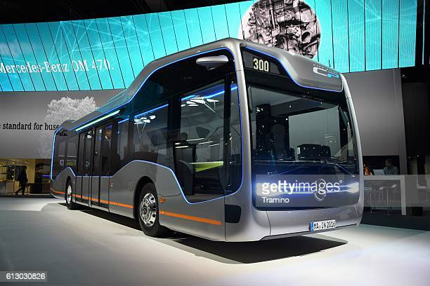 Mercedes Future Bus CityPilot on the exhibition