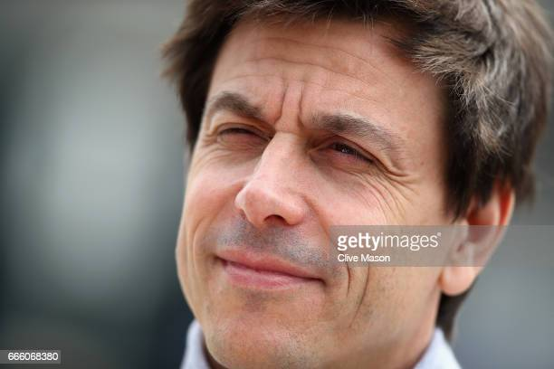 Mercedes GP Executive Director Toto Wolff in the Paddock during final practice for the Formula One Grand Prix of China at Shanghai International...