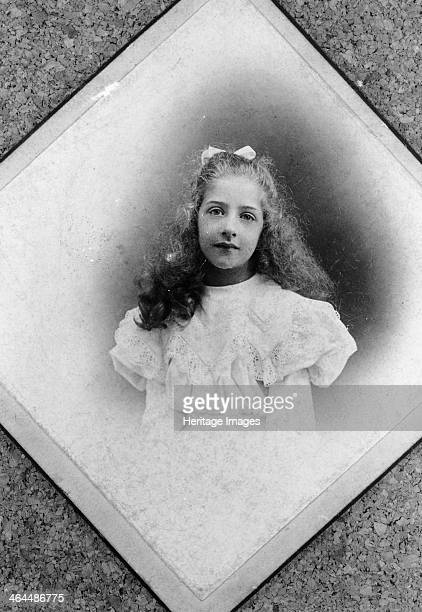Mercedes Jellinek c1900 Portrait of the daughter of businessman Emil Jellinek as a young girl When he ordered 36 cars from the Daimler Motoren...