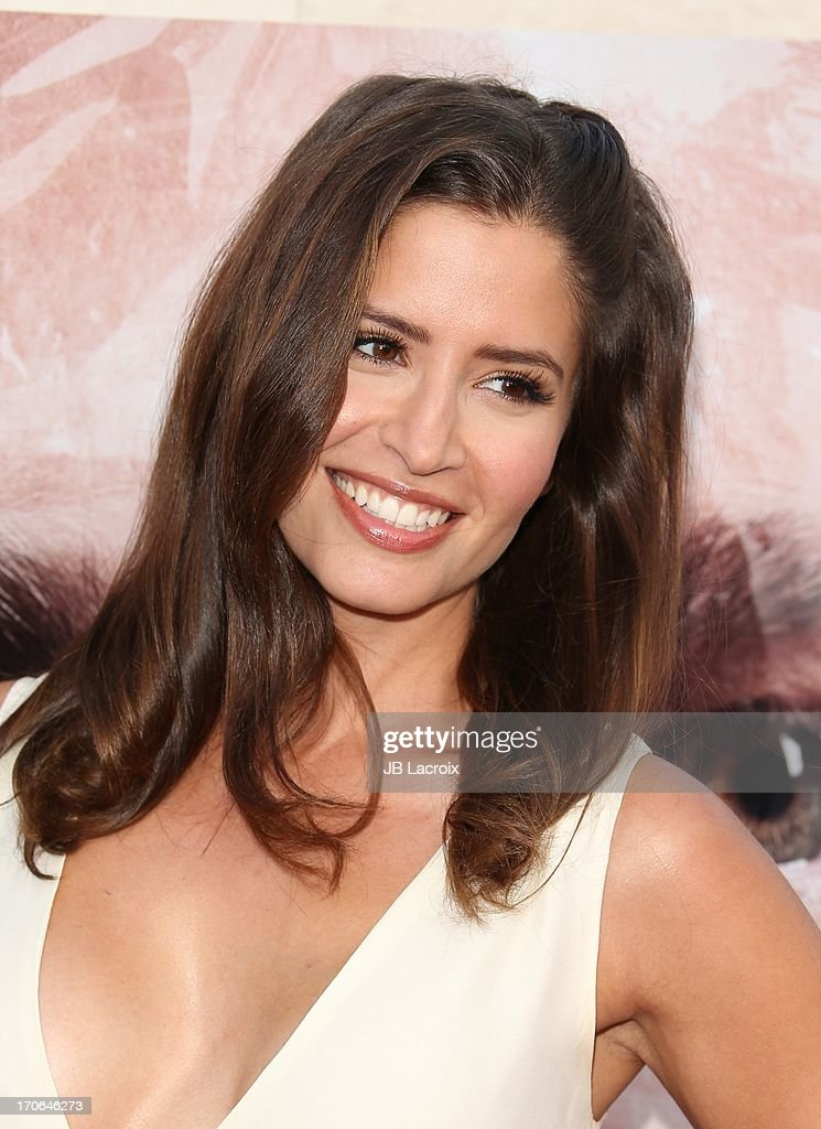 Mercedes Masohn attends the 'Dexter' series finale season premiere party at Milk Studios on June 15 2013 in Hollywood California