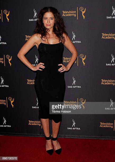 Mercedes Mason attends the Television Academy and SAGAFTRA's 4th annual Dynamic and Diverse Celebration at Saban Media Center on August 24 2016 in...