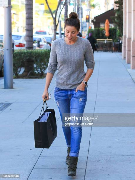 Mercedes Mason is seen on February 28 2017 in Los Angeles California