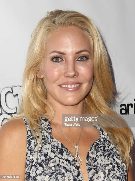 Mercedes McNab at the 'Hatchet' 10th Anniversary Celebration at ArcLight Cinemas on August 22 2017 in Hollywood California