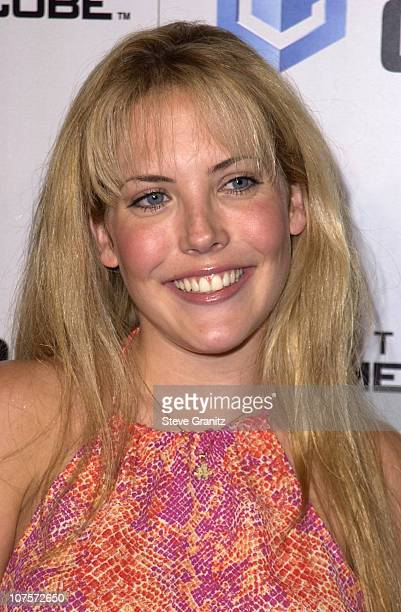 Mercedes McNab during Nintendo Game Cube Premiere Party 2001 at Private Club in Hollywood California